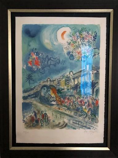 Marc CHAGALL - Print-Multiple - Bataille de Fleurs (Carnaval of Flowers)