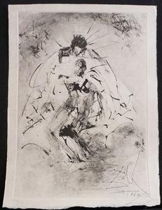 萨尔瓦多·达利 - 版画 - Les Rois Mages Pieta