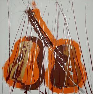 Fernandez ARMAN - Pintura - S.T.