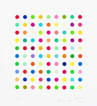 Damien HIRST - Estampe-Multiple - Lanatoside B