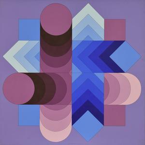 Victor VASARELY - Pintura - TSALOKA-2