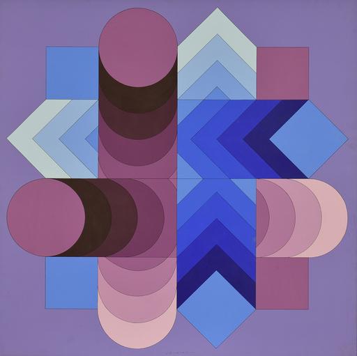 Victor VASARELY - Painting - TSALOKA-2