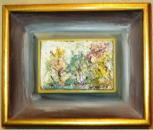 David BURLIUK - Gemälde - Landscape