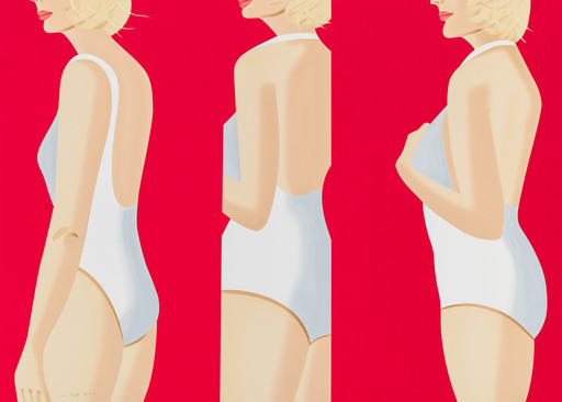 Alex KATZ - Druckgrafik-Multiple - Coca Cola Girl 5 (Portfolio of 9)
