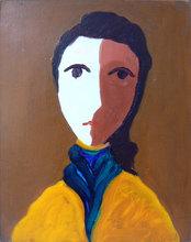 Virgilio GUIDI - Painting - Baronessa