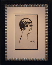 Kees VAN DONGEN - Stampa Multiplo - Les Cheveux Courts-1 st state