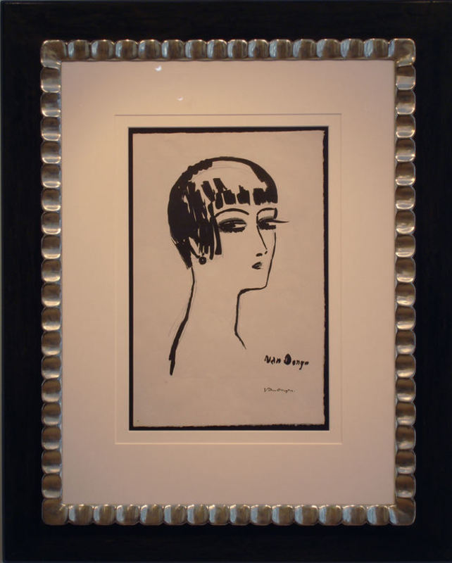 Kees VAN DONGEN - Stampa-Multiplo - Les Cheveux Courts-1 st state
