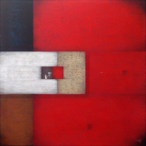 Frank JENSEN - Pintura - RED BLUES