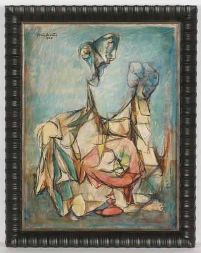 "Boris DEUTSCH - Peinture - ""Surrealist composition"""