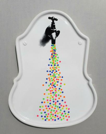 Fabrizio PLESSI - Escultura - Progetto sull'acqua