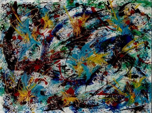 Didier ANGELS - Peinture - Constellation