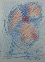 Vladimir Igorevich YAKOVLEV - Drawing-Watercolor - Flower