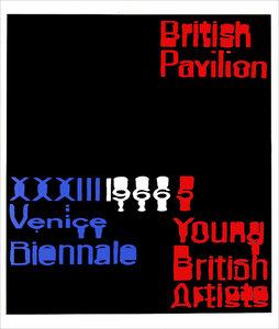 Raymond HAINS - Grabado - British Pavilion (Angleterre)