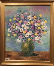 Raymonde AUBRY - Painting - Fleurs des Champs