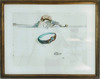 Salvador DALI - Dessin-Aquarelle - Soft Watch (Reloj Blando)