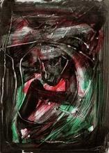 Emilio VEDOVA - Disegno Acquarello - Untitled (Oltre - 2)