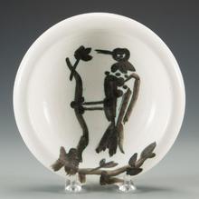 巴勃罗•毕加索 - 陶瓷  - Oiseau sur le branche