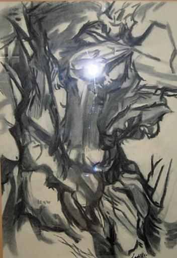 Jean-Claude LATIL - Zeichnung Aquarell