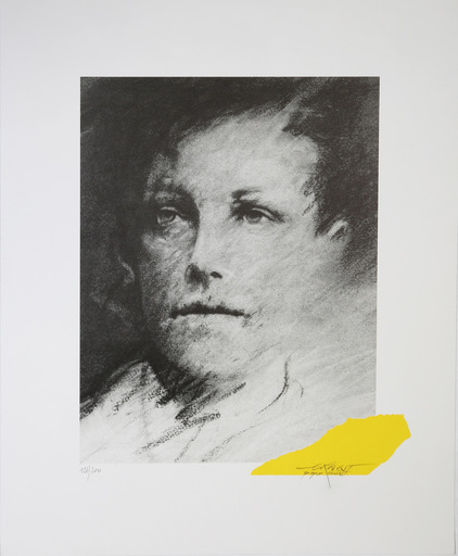 Ernest PIGNON-ERNEST - Druckgrafik-Multiple - Rimbaud (67)