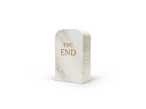 Maurizio CATTELAN - Sculpture-Volume - The End (marble)