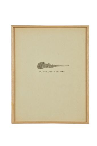 Giò PONTI - Zeichnung Aquarell - Lettera disegnata