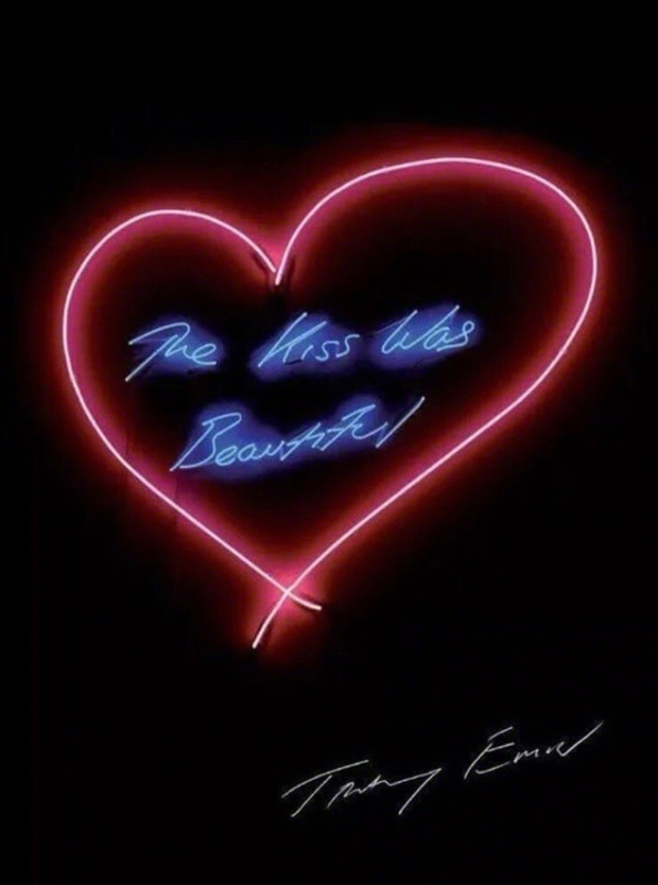 Tracey EMIN - Estampe-Multiple - The kiss was beautiful