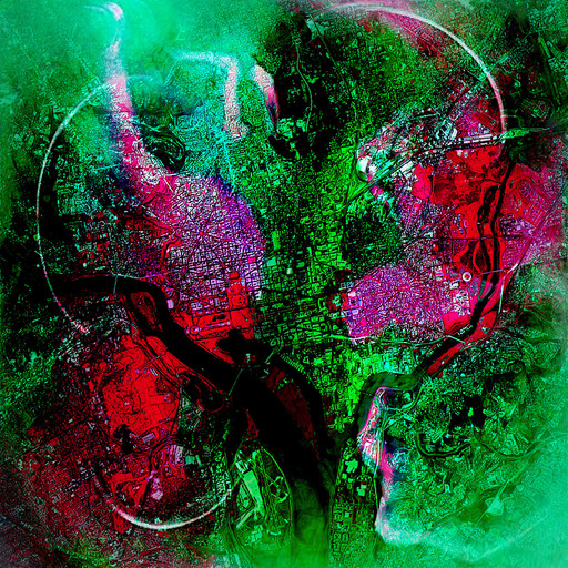Roland S. HEIM - Painting - Washington dc no2
