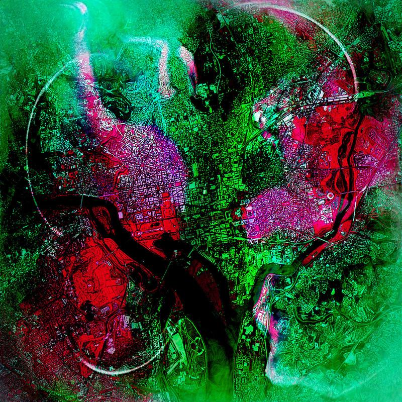 Roland S. HEIM - Pintura - Washington dc no2