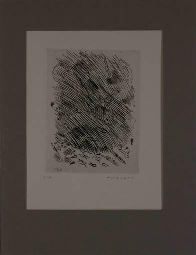 Giulio TURCATO - 版画 - Senza titolo da L 'Avanguardia internazionale', vol. 4
