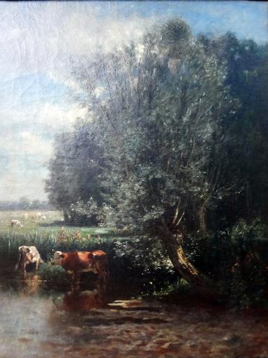 Serafín DE AVENDAÑO - Pintura - vacas