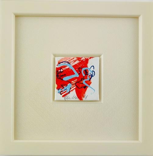 Nicole LEIDENFROST - Gemälde - Falke abstrakt