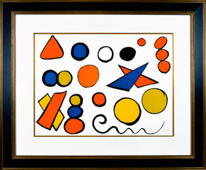 Alexander CALDER, Alphabet et serpant (Alphabet and serpent)
