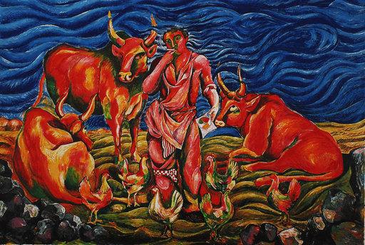 Sandro CHIA - Print-Multiple - Pastorale