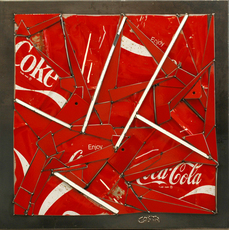 Fernando DA COSTA - Sculpture-Volume - Coca