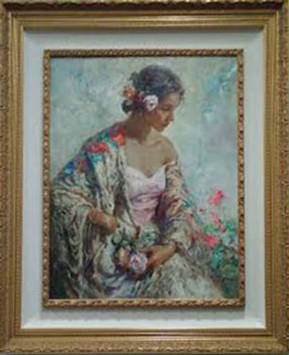 Jose ROYO - Painting - Belleza Serena
