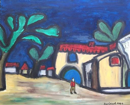 Christian DURIAUD - Pintura - Le paysan