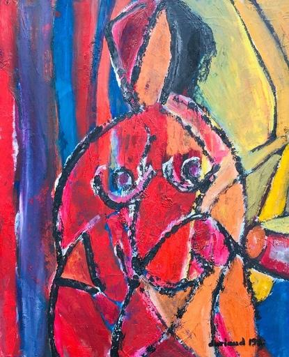 Christian DURIAUD - Pintura - Nu cubiste