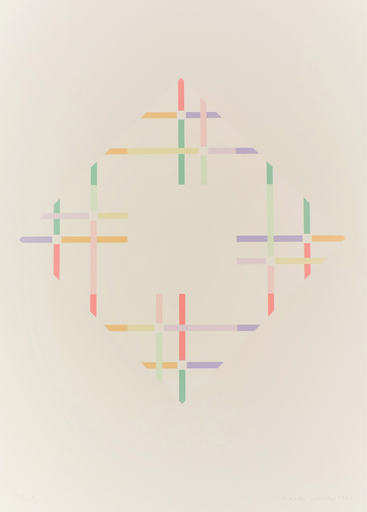 Shizuko YOSHIKAWA - Print-Multiple - zwei energien B