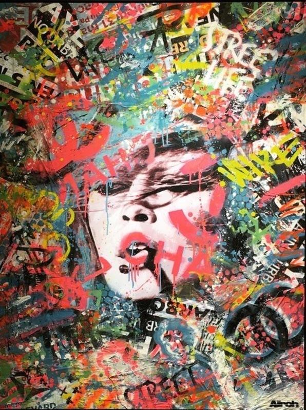 AÏROH - Painting - unforgettable