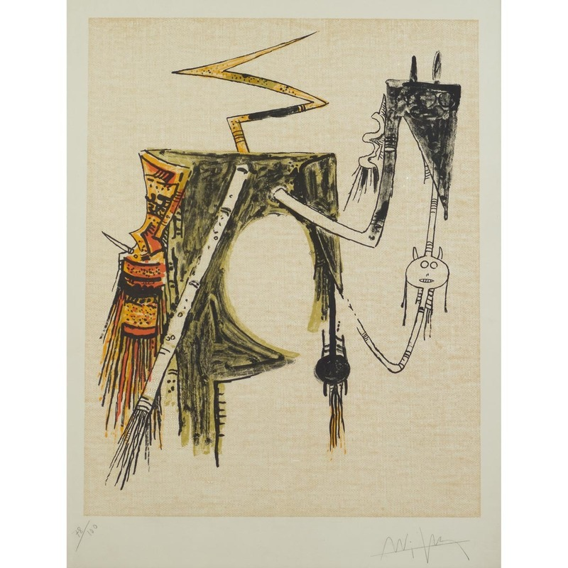 Wifredo LAM - Estampe-Multiple