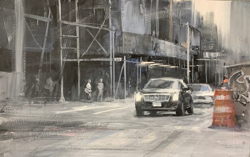 Alexey ALPATOV - Drawing-Watercolor - NY