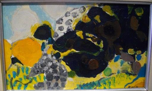 Gustav BOLIN - Pittura - L'arbre noir