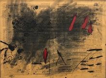 Antoni TAPIES - Painting - Nocturn matinal, 9