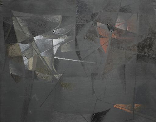 Toti Antonio SCIALOJA - Pintura - La finsetra scura