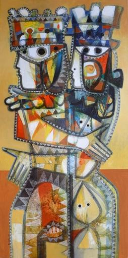 Orestes GAULHIAC - Painting - Cuestión de Reyes