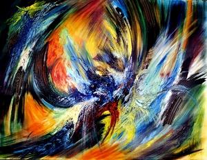 Didier ANGELS - Peinture - L'Envolée