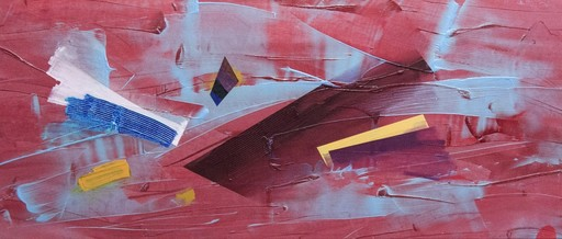 Milly RISTVEDT - Painting - Red Finish