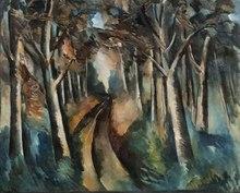 Maurice DE VLAMINCK (1876-1958) - Bois à la Jonchère