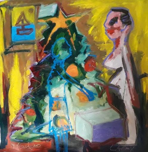 Bernard MOREL - Gemälde - NOEL 2020