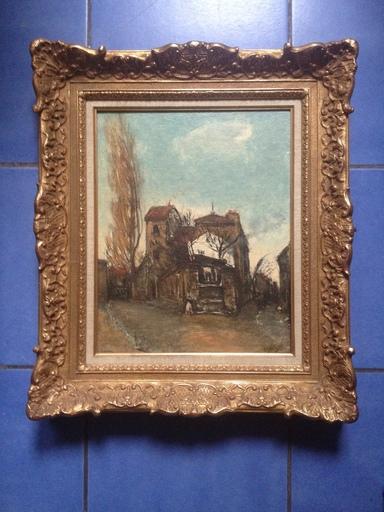 Alphonse QUIZET - Pintura - MONTMARTRE